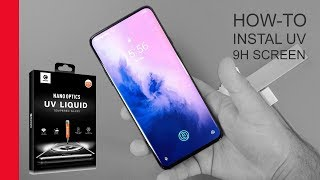 How-to: Mocolo 9H Tempered UV Glass Screen Protector instal OnePlus 7 and 7T Pro