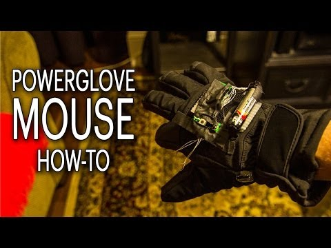 Turn Your Mouse Into A Powerglove! - Smashpipe Tech