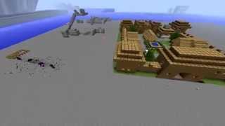 用 Minecraft 創造一個費德提克