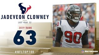 #63: Jadeveon Clowney (DE, Texans) | Top 100 Players of 2019 | NFL