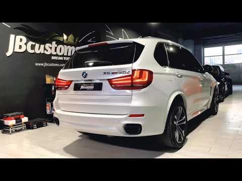 BMW X5 M50D F15 con nuestro sistema completo JB Customs