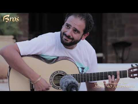 Farru, Diego Del Morao y Niño Seve en la última fiesta de Guitarras Bros.