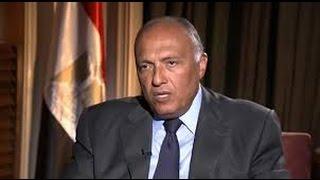 عاجل: وزير خارجية مصر يهدد امريكا لاعتراضها على حكم اعدام مرسى -