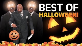 A HALLOWEEN TREAT from the Feud! | Family Feud