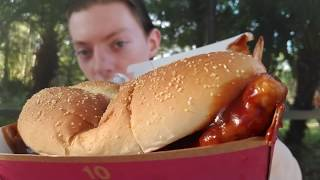 My First McRib from McDonald's