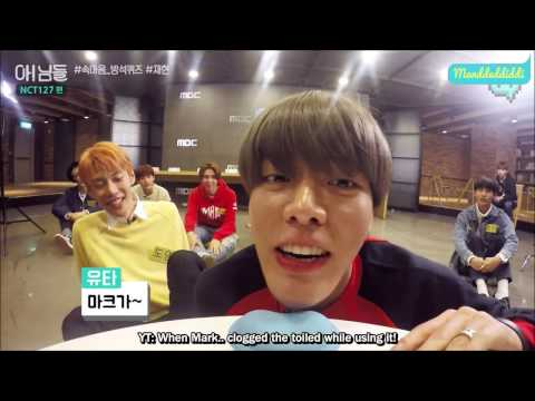 (Eng Sub) NCT 127 NIMDLE BEHIND Cushion Speed Game (YUTA, WINWIN, TAEYONG, JOHNNY, JAEHYUN cut)