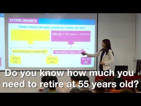Retiring, Savings, Investing.