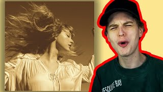 IT'S SO GOOD....a Fearless Album Reaction (Taylors Version)