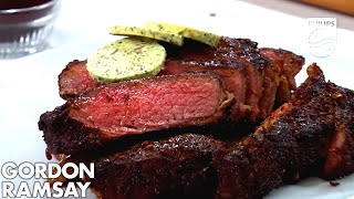 Philips Airfryer Gordon Ramsay Coffee & Chili-Rubbed Steak Recipe