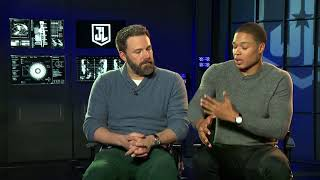 Justice League - Interview with Ben Affleck and Ray Fisher (Batman and Cyborg)