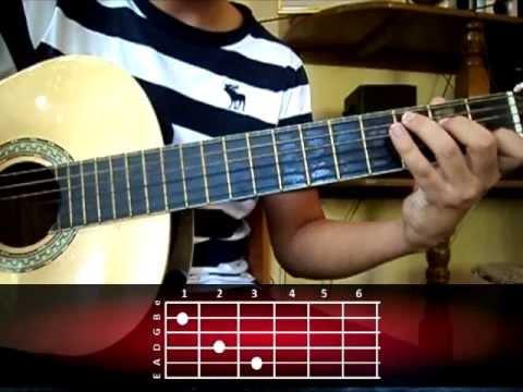 Como tocar  Mi  novia se me esta poniendo vieja de Ricardo Arjona Tutorial Guitarra Acordes