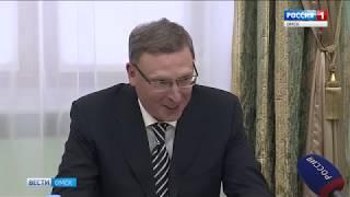 Александр Бурков встретился с представителями политических партий региона