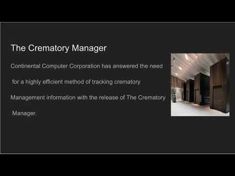 Funeral software services continental computers