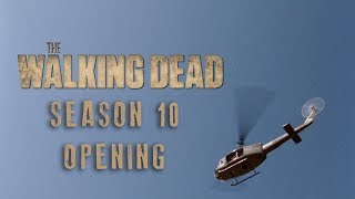 The Walking Dead - Season 10 Episode 1 Opening Scene