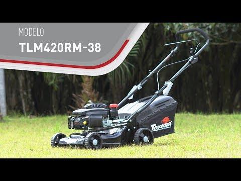 Máquina de cortar Grama a Gasolina 3,5HP TLM420RM-38 Toyama - Vídeo explicativo