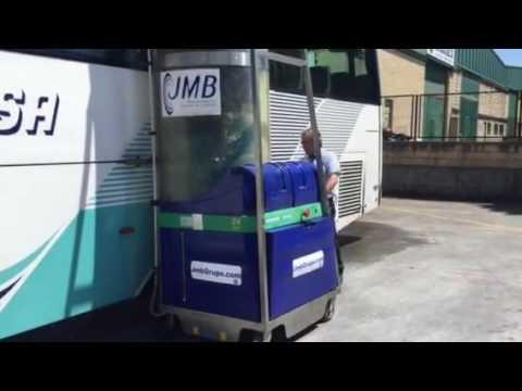Monocepillo - Lavado de Autobuses en Vera de Bidasoa