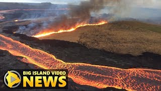Hawaii Volcano Eruption Update - Saturday Evening (July 28, 2018)
