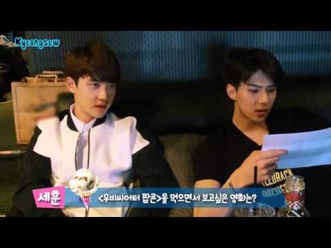 [ENG SUB] Baskin Robbins - EXO-K D.O. and Sehun Self Camera