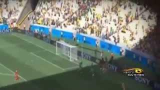 اهداف مباراة هولندا والمكسيك 2-1 هدف المكسيك اول عصام الشوالي