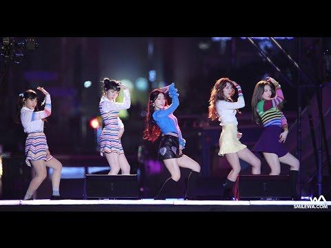 161231 레드벨벳 (Red Velvet) 덤덤 (Dumb Dumb) 직캠 @영동대로 MBC 가요대제전 4K Fancam by -wA-