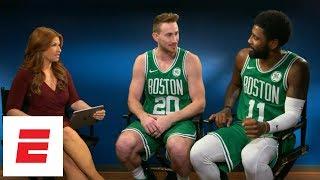 Kyrie Irving, Gordon Hayward talk all things Boston Celtics with Rachel Nichols | ESPN