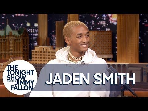 Jaden Smith Freestyles on The Tonight Show