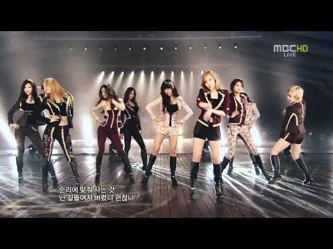 Girls' Generation 소녀시대_少女時代(SNSD) - Diamond & The Boys Gayo Fest. [HD][LIVE]