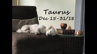 TAURUS Love Dec 15-31 You get ALL you want! If you can let go