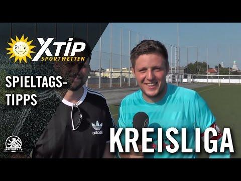 XTiP Spieltagstipp mit Sascha Wetzky und Jeff Koal (Kickers Hirschgarten) - 4. Spieltag, Kreisliga B, Staffel 6 | SPREEKICK.TV