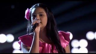 La Voz Kids | Isabel Sanchez canta 'Cucurrucucu Paloma' en La Voz Kids