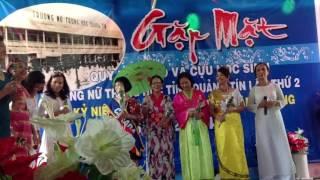 Hoat canh truong lang toi. Nu trung hoc Quang Tin (68-75) gap mat 2014