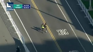 Drámai befutó a Los Angeles Maratonon