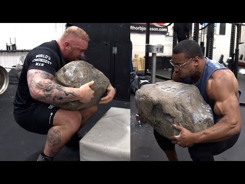 WORLDS STRONGEST MAN AND WORLDS STRONGEST BODYBUILDER BECOME TRAINING PARTNERS