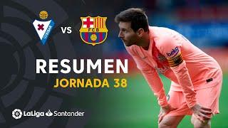 Resumen de SD Eibar vs FC Barcelona (2-2)
