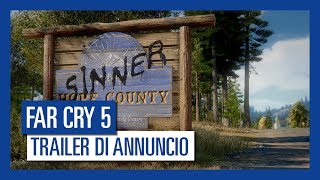 Far Cry 5 - Trailer di Annuncio