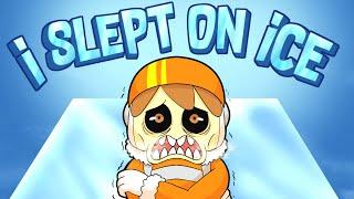 I SLEPT ON ICE