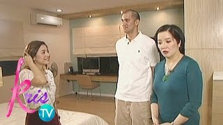 Kris TV: Rich and Kyla's bedroom