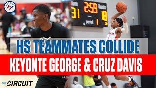 Keyonte George & Cruz Davis | New HS Teammates GO AT IT!