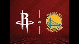 NBA LIVE STREAM: Houston Rockets Vs. Golden State Warriors Live Play By Play & Reaction Game 5