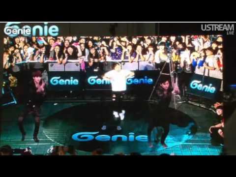 Genie EXO-K AR 영상 쇼 - 이은화