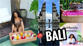 TRAVEL VLOG ✈️ | BALI, INDONESIA ∙ PART ONE | KARSA SPA, VILLA TOUR, FLOATING BREAKFAST, PHOTOSHOOT!