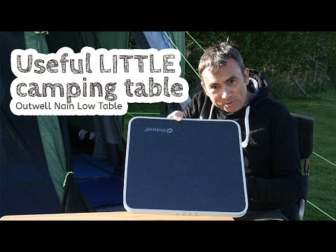 video Outwell Nain Low Table – A useful little table for camping