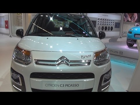Citroën C3 Picasso PureTech 110 Exclusive (2016) Exterior and Interior in 3D