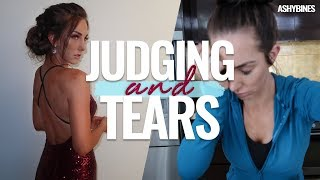 I didnt expect to break down...... and ummm i WET MY PANTS ALSO MISS WORLD JUDGING!