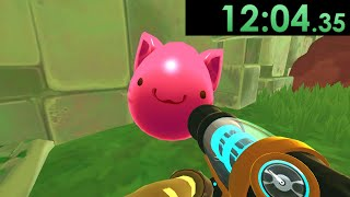 I decided to speedrun Slime Rancher and exploited cute creatures for monetary gain
