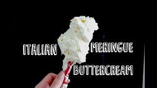 How to Make Italian Meringue Buttercream!