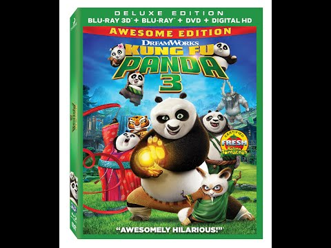 Kung Fu Panda 3 in 3D | sample movie