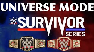 WWE 2K19 Universe Mode Ep 85-Survivor Series PPV Part 3