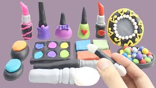 Play Doh MakeUp Learn Color Stop Motion Animations Videos For Kids