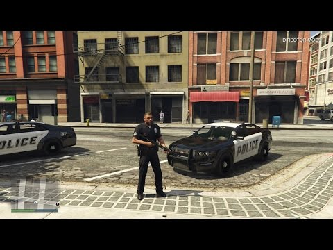 How to play as a police officer GTA 5 (PS4/XBOX)